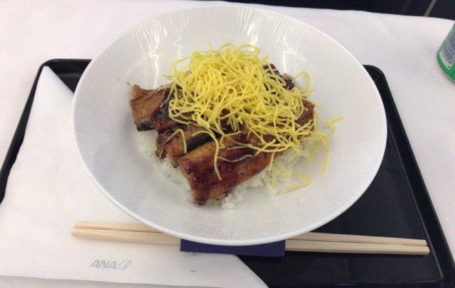 ANAビジネスクラスの軽食