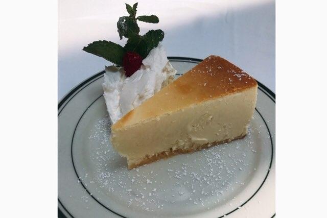 ハワイのウルフギャングステーキハウスのチーズケーキ
