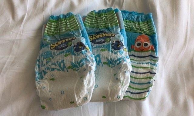 ハワイのトランプホテルで用意してもらった赤ちゃんの水遊び用オムツ