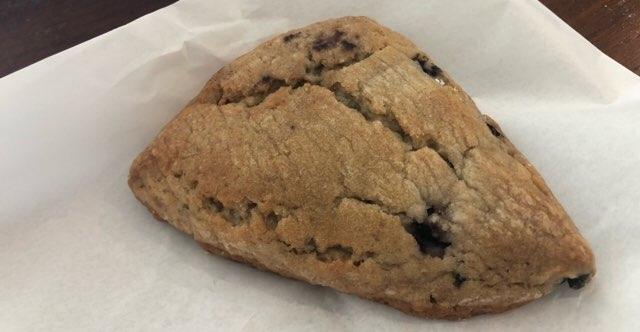 ハワイ ワイキキのパン屋さん「マレコ」のブルーベリースコーン