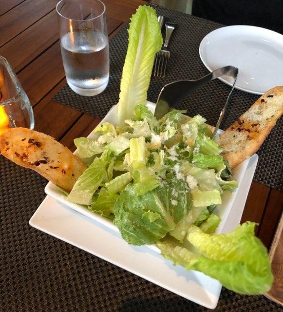 BLTステーキ(ハワイ)のシーザーサラダ