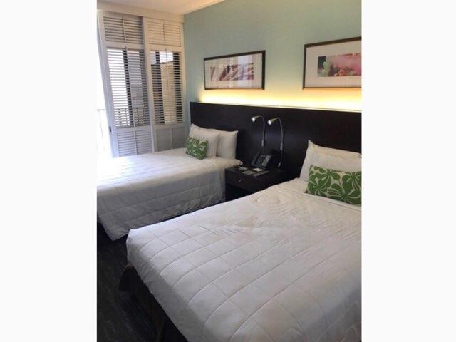 ワイキキパークホテルの客室