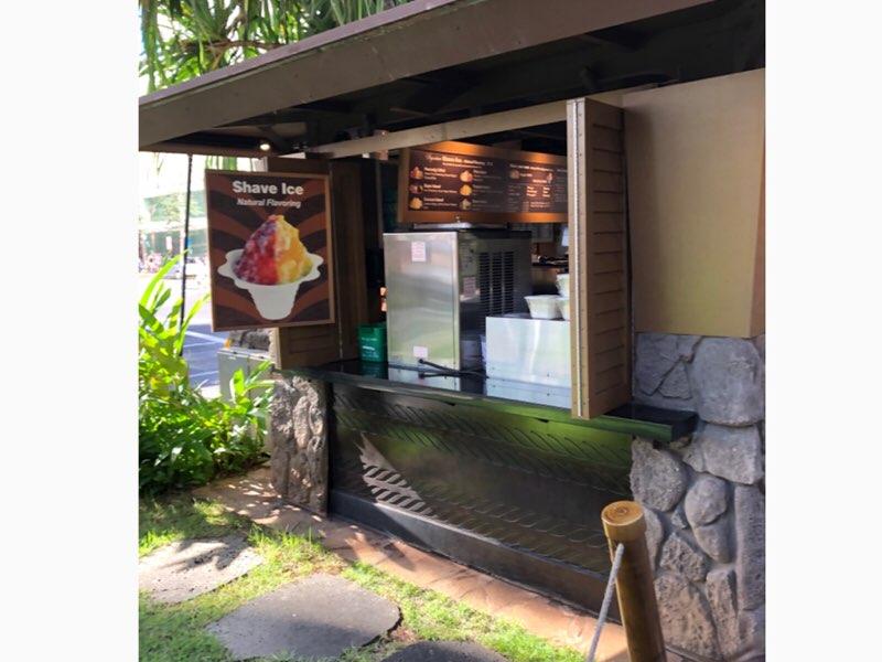 ハワイのアイランド・ヴィンテージ・シェイブアイス1号店 ロイヤルハワイアンセンター