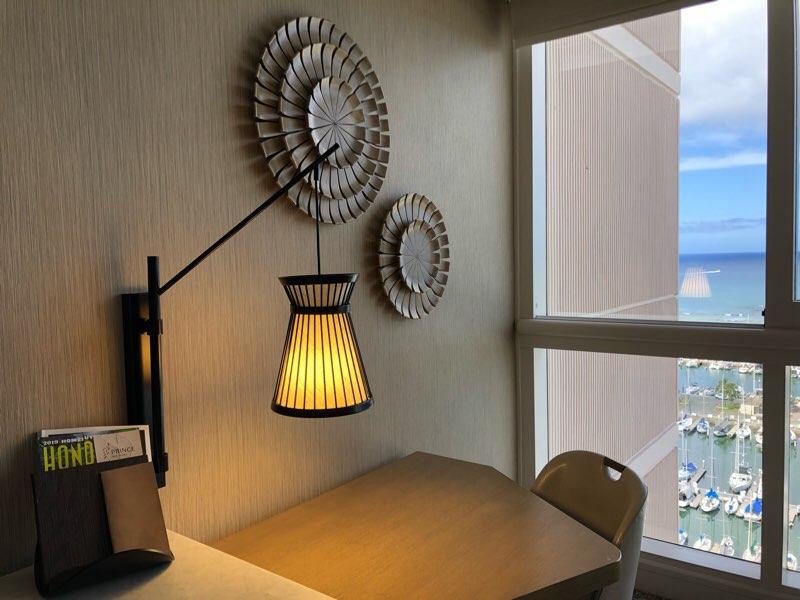 ハワイのプリンスワイキキのオーシャンフロントの客室