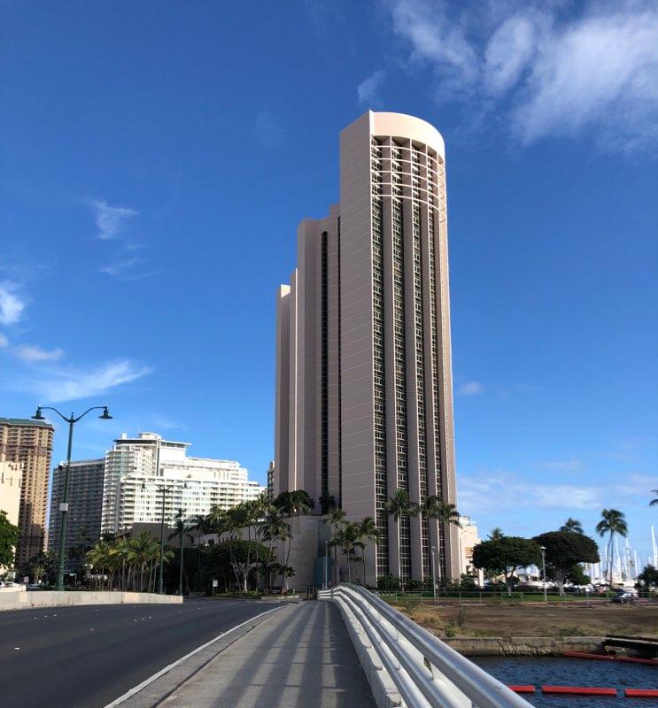 ハワイのプリンスワイキキの外観