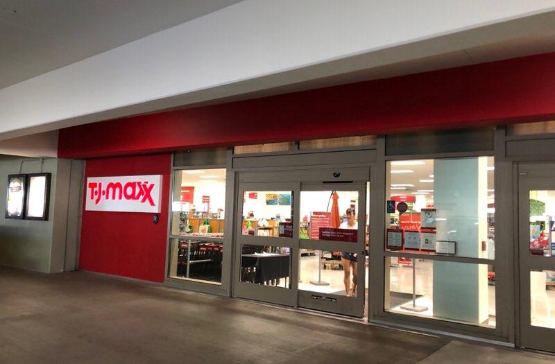 ハワイのワードエリアにあるT.J.Maxx