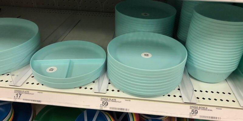 アラモアナのターゲットで購入できるハワイ雑貨 BPAフリー食器