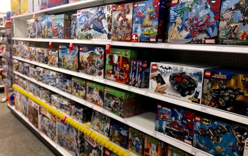 アラモアナのターゲットで購入できるおもちゃ レゴ