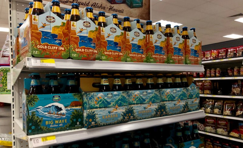 アラモアナのターゲットで購入できるハワイ土産 ビール
