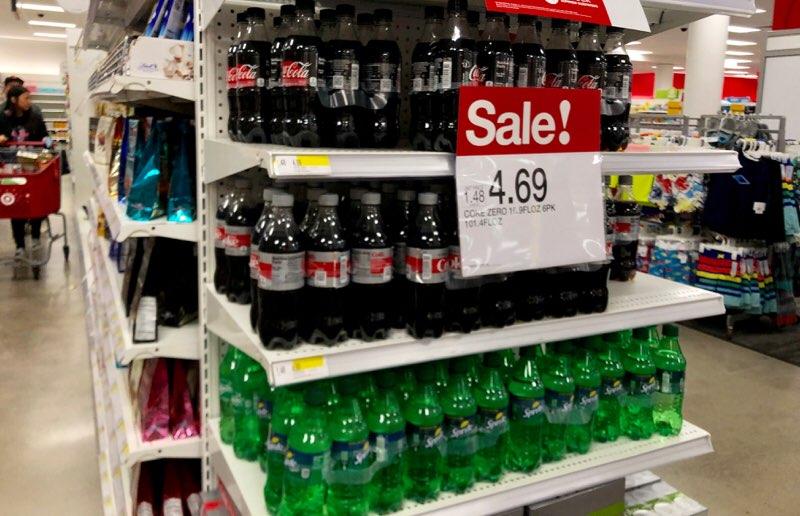 アラモアナのターゲットで購入できるペットボトルジュース