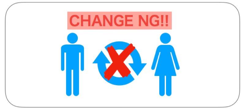ANA特典航空券の搭乗者の変更不可