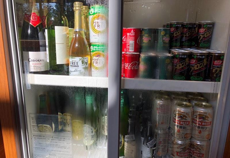 プリンス・ヴィラ軽井沢のセンターハウスの酒類