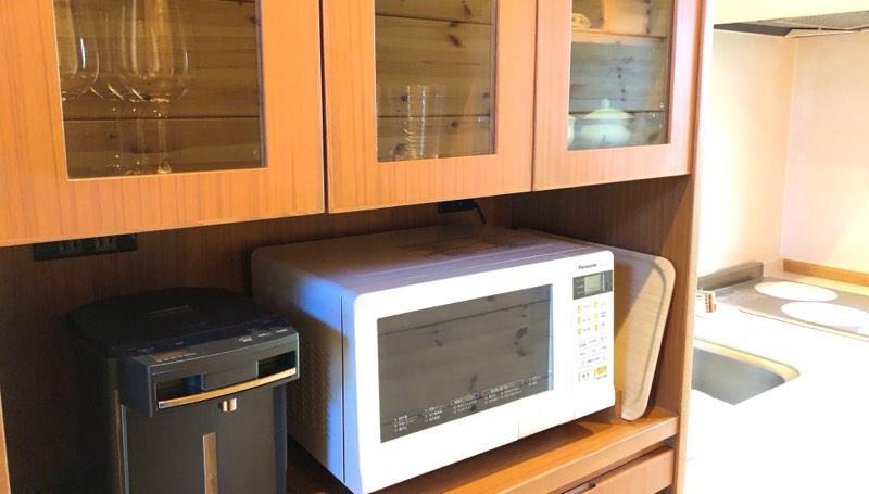 ザ・プリンス・ヴィラ軽井沢のテラスタイプのキッチン
