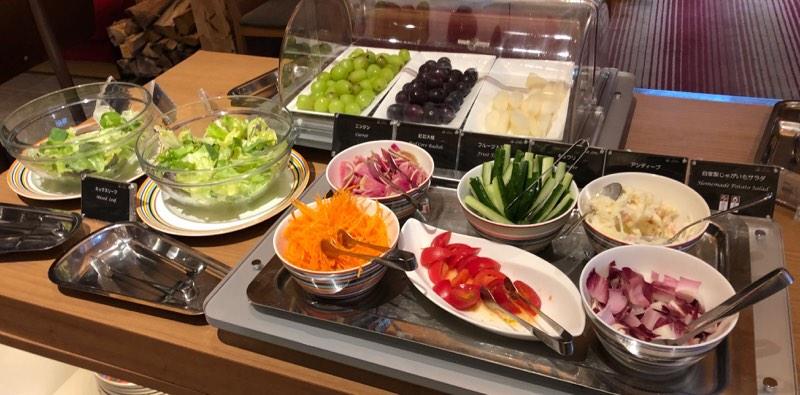 ザ・プリンス・ヴィラ軽井沢のセンターハウスの朝食 洋食のブッフェメニュー