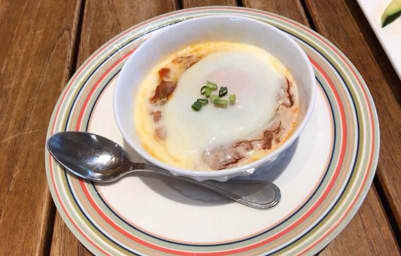 ザ・プリンス・ヴィラ軽井沢のセンターハウスの朝食 洋食の渾身の一品