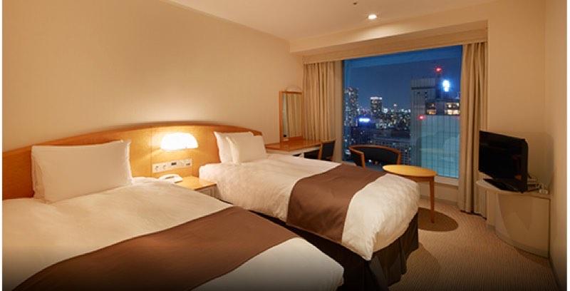 プリンスポイントで無料宿泊可能な品川プリンスホテル