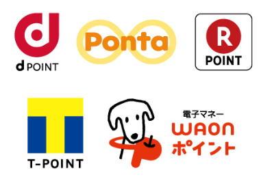 東京ガスで貯められるパッチョポイントを交換できるポイントサービスはdポイント、Tポイント、楽天ポイント、WAONポイント、Pontaとなっています。ANAマイルに交換できるのはTポイントと楽天ポイントだけですので交換先には注意しましょう。