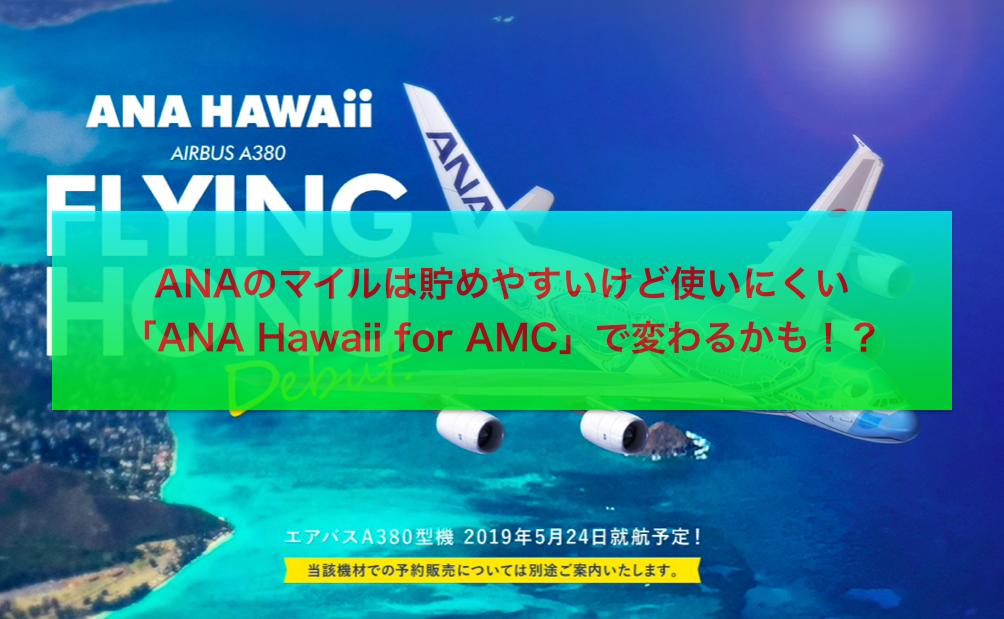 ANA:ハワイ:幼児:2歳未満:特典航空券
