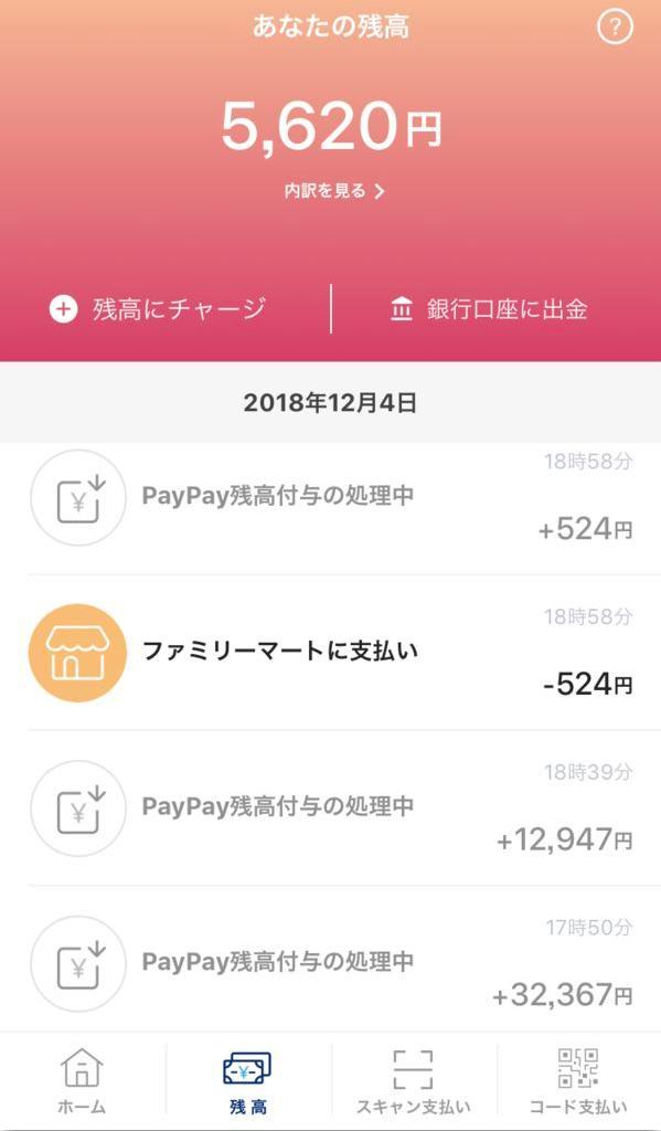 PayPay:不正利用:キャンペーン:第二段:ビックカメラ:switch