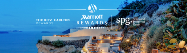 SPG・Marriott・The RITZ-CARLTONのイメージ