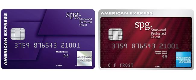 日米のSPGアメックスカード
