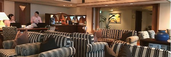 ルネッサンス・オキナワ・リゾートのクラブラウンジ