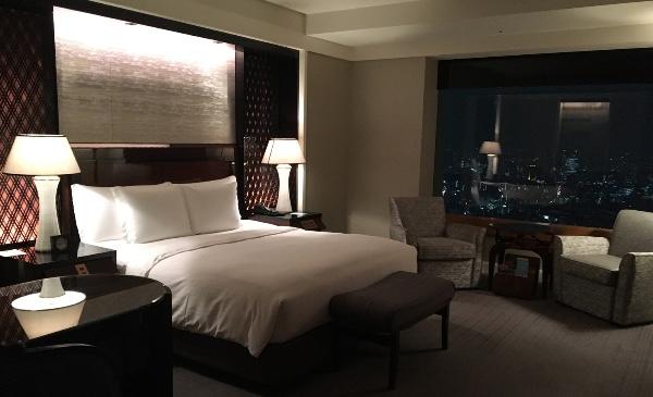 ザ・リッツ・カールトン東京のベッドルーム