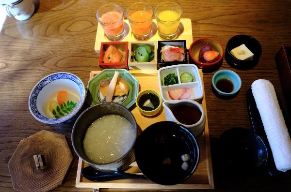 翠嵐の朝食(和食)