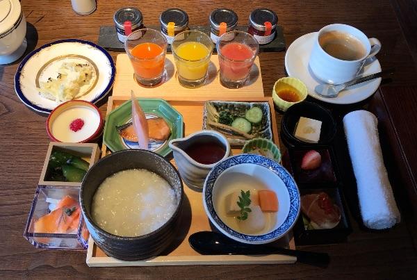 翠嵐の朝食「和食」