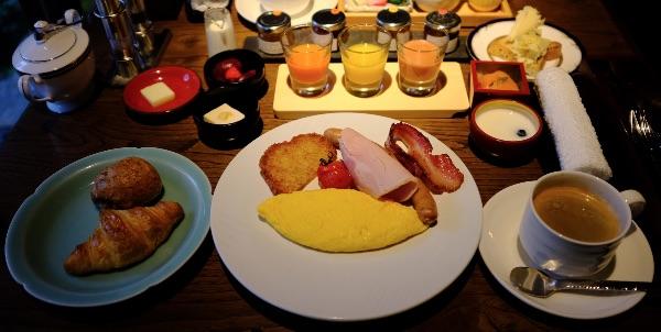翠嵐の朝食「洋食」