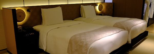ザ・リッツ・カールトン京都のベッドルーム