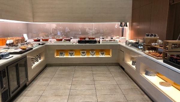 大阪マリオット都ホテルのクラブラウンジのお食事