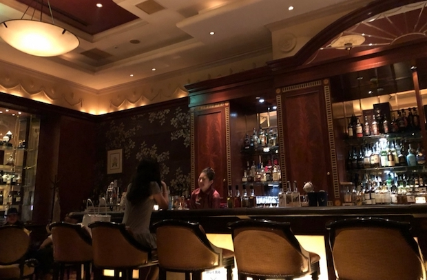 ウェスティンホテル東京のザ・バーの雰囲気