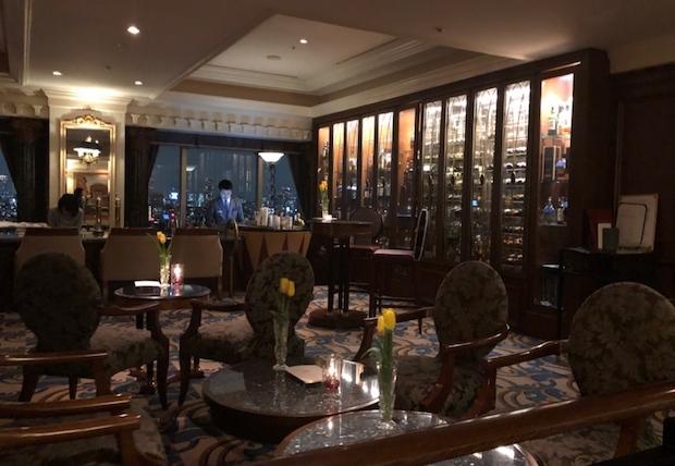 ウェスティンホテル東京のコンパスローズの雰囲気