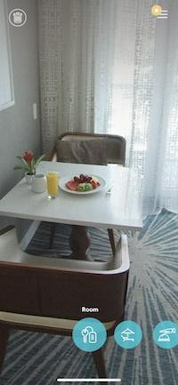 Marriott Portal to Paradiseの部屋表示画面