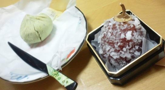 栗金饂_栗白寿柿