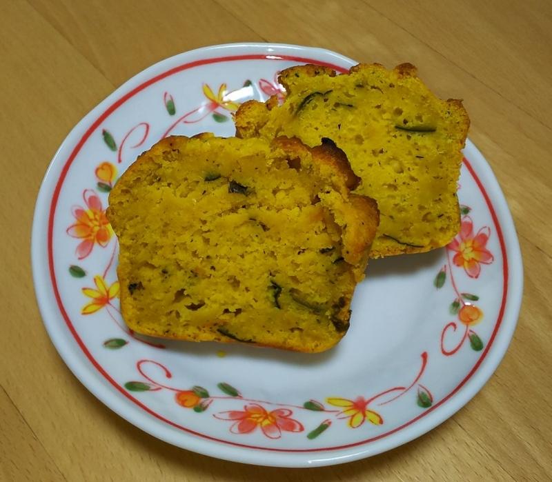 卵不使用_かぼちゃパウンドケーキ