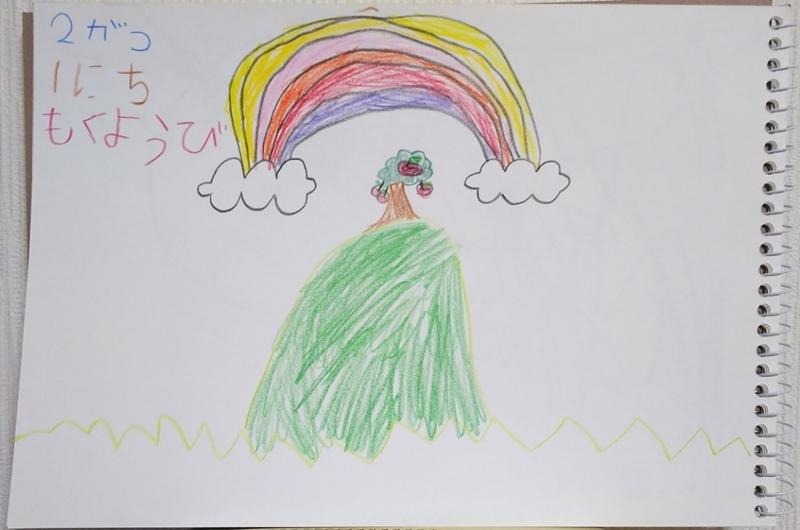 5歳娘の画力1