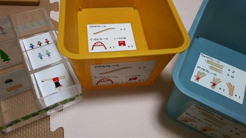 電車おもちゃ収納_1