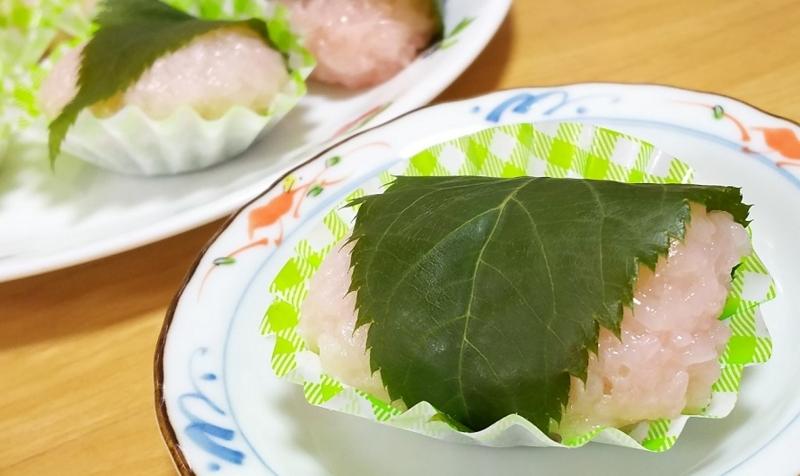 卵不使用_もち米の桜餅