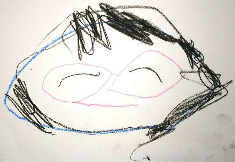 3歳息子の画力