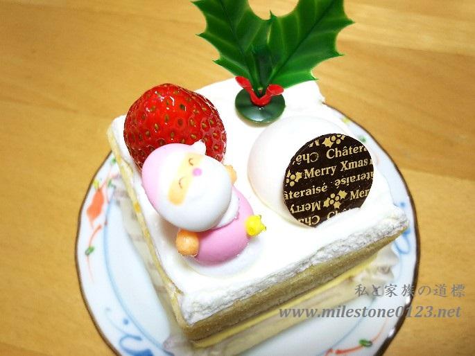 シャトレーゼ_サンタのショートケーキ1