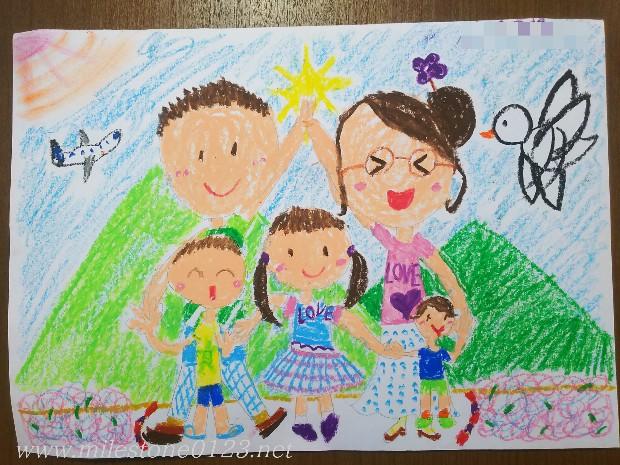 9歳_家族の絵