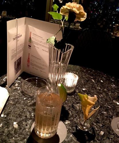 ウェスティンホテル東京のコンパスローズ