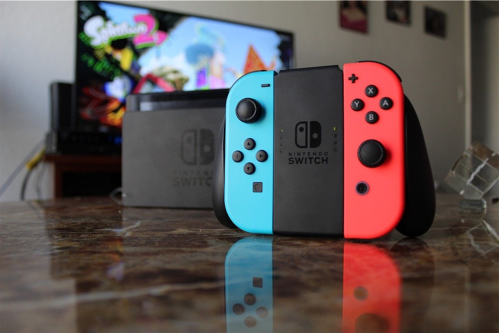 switch通常版 switch本体 テレビ 配信 選び方