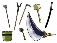 弁慶の武器