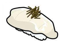 ヒラメの握り寿司