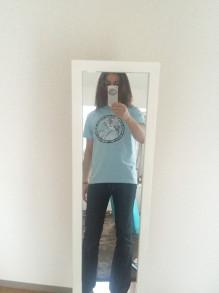 花魁Tシャツ試着05