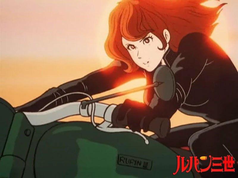 峰不二子・バイク
