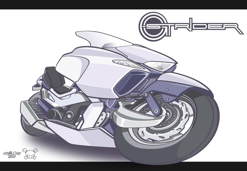 G-Strider(G-ストライダー)のみイラスト